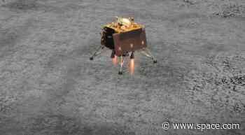 India Admits Its Moon Lander Crashed, Cites Problem with Braking Thrusters