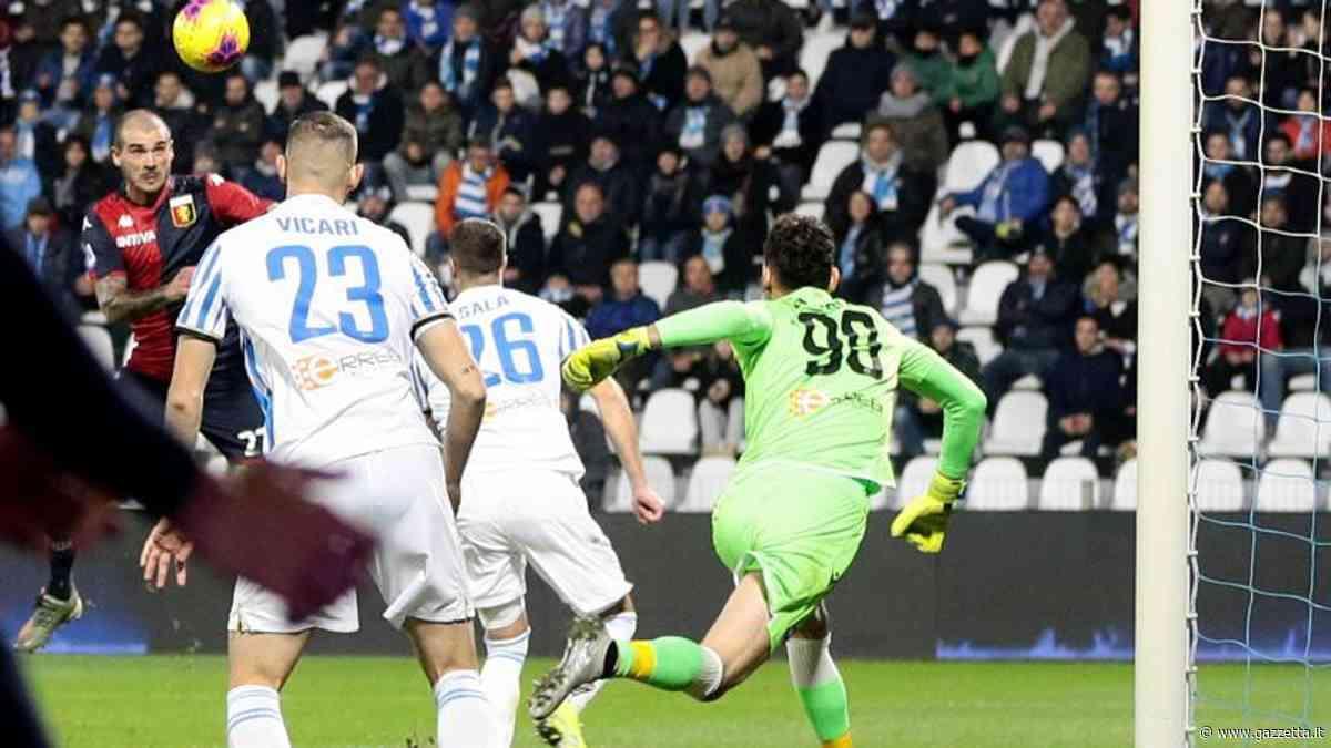 Spal-Genoa 1-1: rigore di Petagna e gol di Sturaro