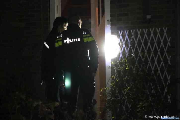 Meerdere schoten gelost op woning in Velp
