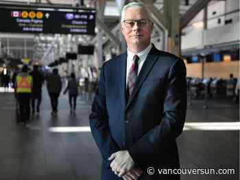 Vancouver International Airport CEO Craig Richmond announces retirement