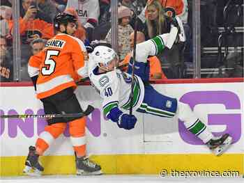 Flyers 2 Canucks 1: One even-strength goal wasn't going to get the job done