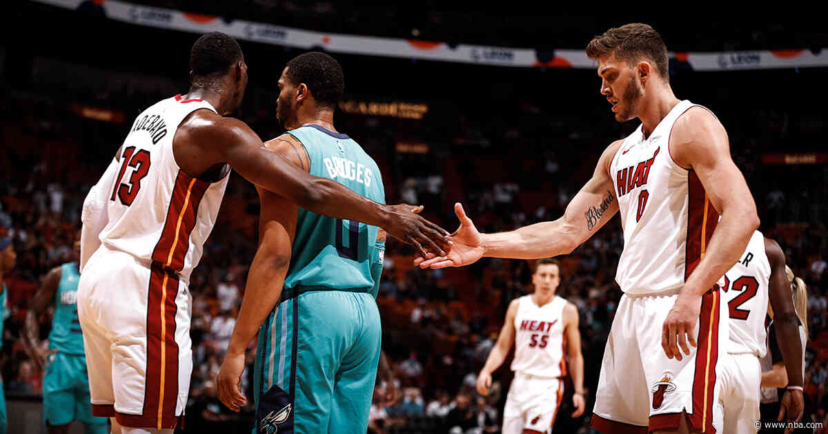 HEAT Take Care Of Business Against Hornets