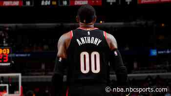 Carmelo Anthony scores 25 to help Portland snap four-game losing streak