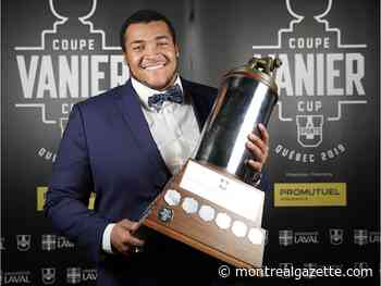 McGill's Seinet-Spaulding named top football lineman in country