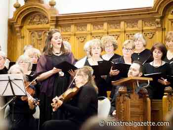 Cantabile Chorale  join in celebratory song for anniversary concert