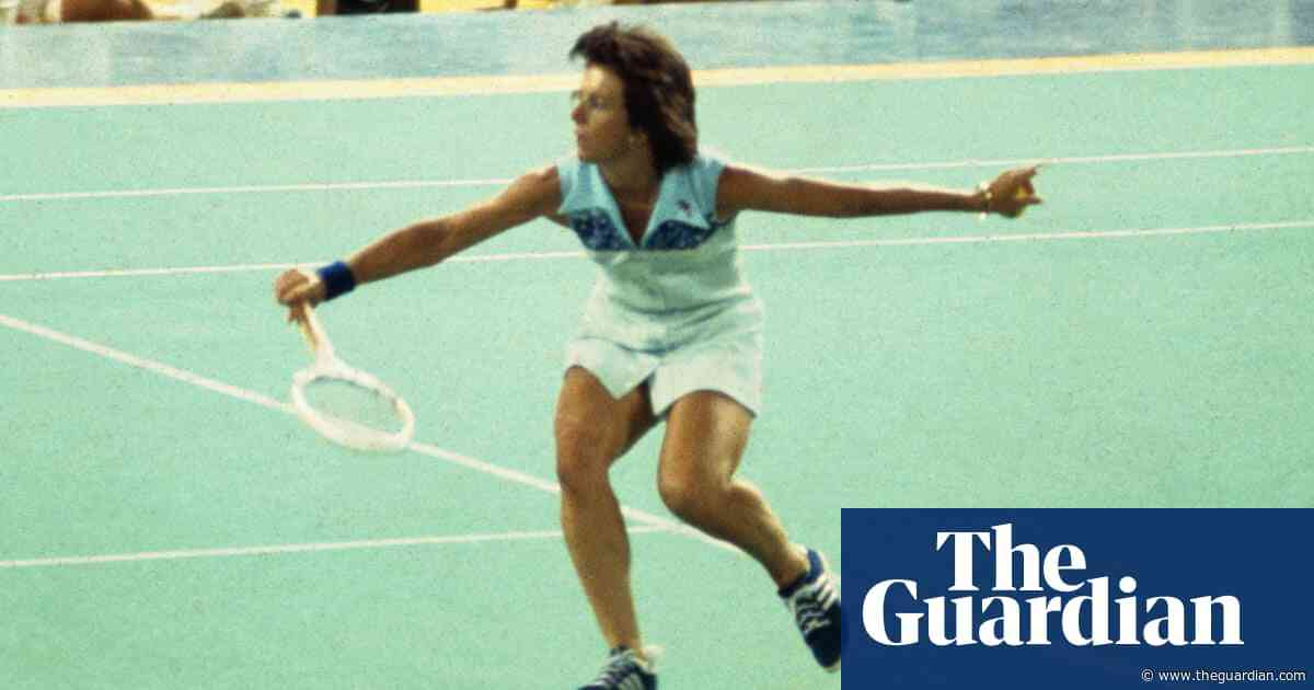 Billie Jean King: 'There was a lot riding on that match – 90m people were watching'