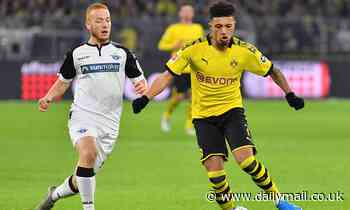 Manchester United 'believe they are the front-runners to sign £100m-rated Jadon Sancho'
