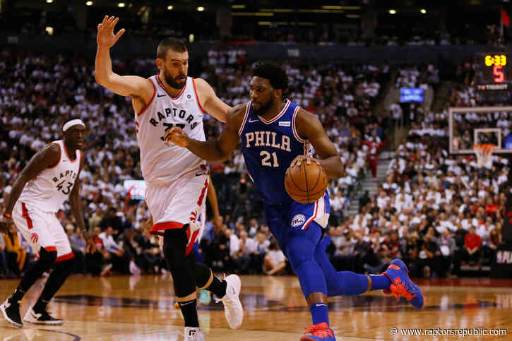 Raptors add to playbook in vibrant win over 76ers