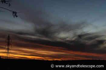 Venus-Jupiter Conjunction from the Texas Hill Country