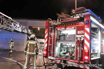 Heftruck veroorzaakt brand in brandstoffenbedrijf