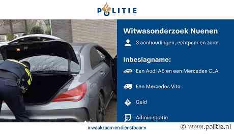 Nuenen - Inbeslagname auto's vanwege onverklaarbaar vermogen in Nuenen