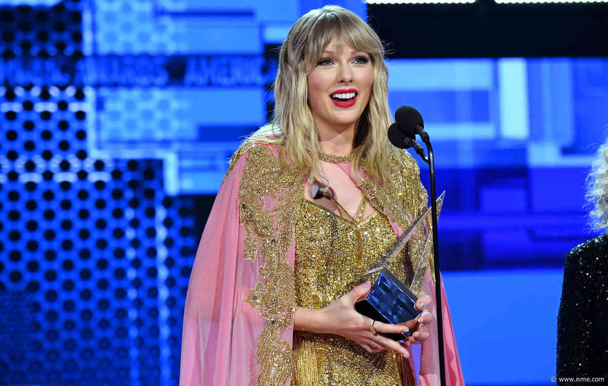 Watch Taylor Swift collect the Artist Of The Decade award at the American Music Awards 2019