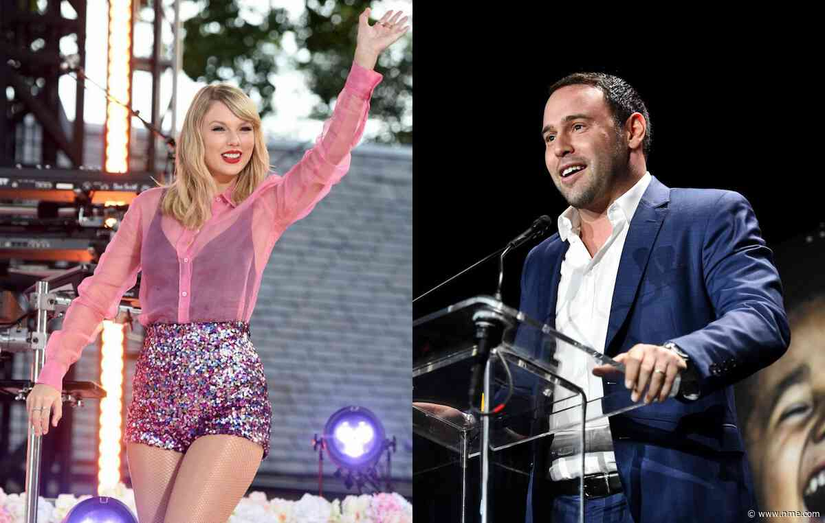"""Scooter Braun discusses """"toxic division"""" with Taylor Swift after huge record label row"""