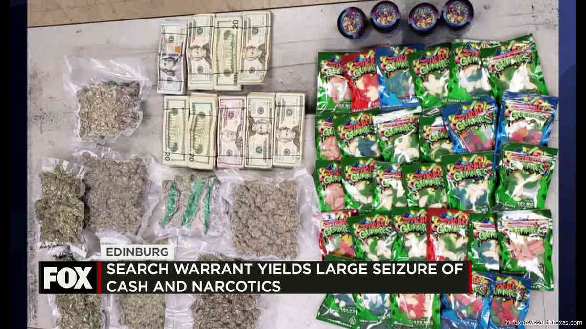 Search Yields Large Seizure of Cash and Narcotics