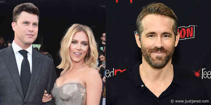 Here's How Colin Jost & Scarlett Johansson's Ex Ryan Reynolds Got Along on 'SNL' Set