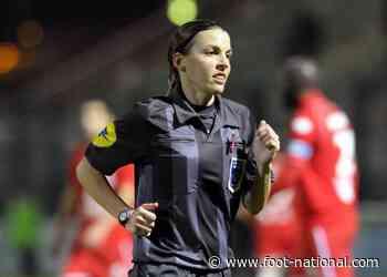 Ligue 1 : Stéphanie Frappart élue meilleure arbitre du monde !