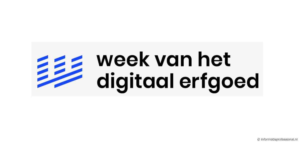 Week van het Digitaal Erfgoed op 25 november van start