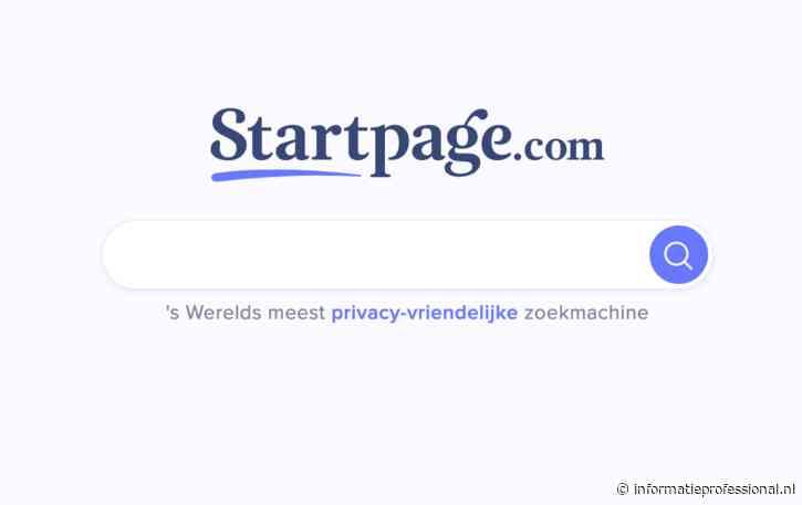 PrivacyTools verwijdert Startpage uit lijst van aanbevolen zoekmachines