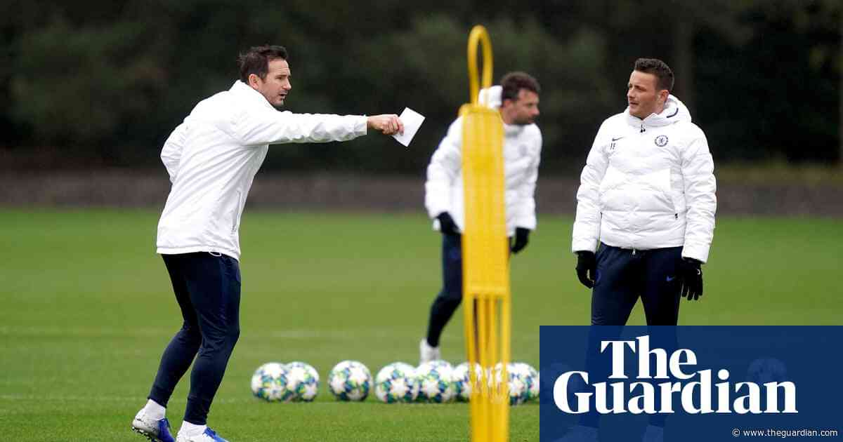 Chelsea's knockout stage starts with Valencia game, says Frank Lampard