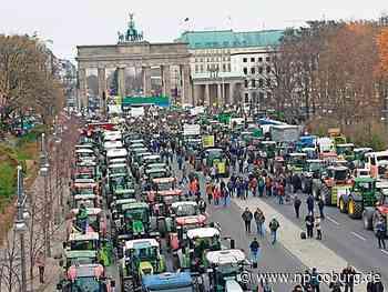 *** Bauern blockieren Berlin