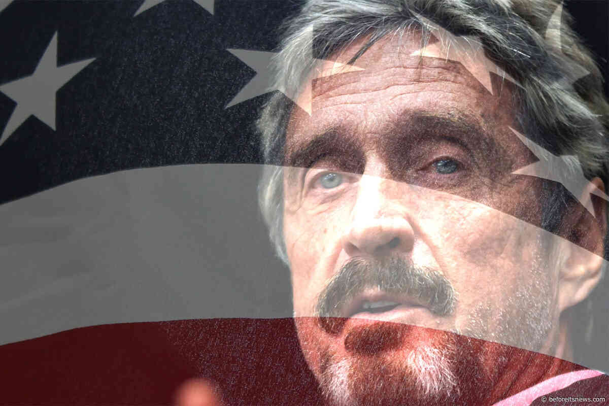 EXCLUSIVE RARE INTERVIEW WITH JOHN MCAFEE – UNFILTERED UNCENSORED & DELIVERING JUST WHAT YOU NEED TO HEAR  (END OF DAYS)
