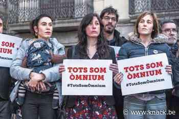 Vrouw van Catalaans activist Jordi Cuixart: 'Laat dit vonnis maar eens goed doordringen in België'
