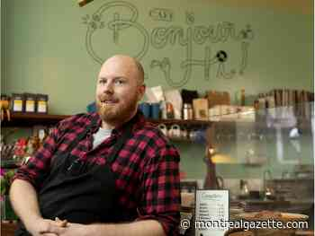 Montreal's Café Bonjour Hi now greeting customers