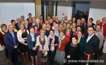 65-jarigen van Zulte ontvangen op gemeentehuis