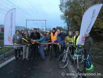 Stukje fietssnelweg tussen Kruishoutemstraat en Bokstraat ingereden