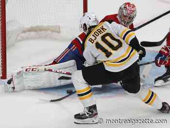 Liveblog replay: Bruins demolish Habs, win 8-1 at Bell Centre