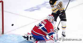 Pastrnak, Bruins easily beat Canadiens 8-1