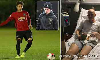 Man United's Max Taylor says he won't let his cancer battle define him ahead of Europa League trip