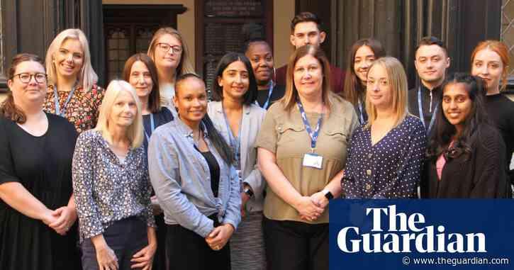 Guardian Public Service Awards: workforce learning and development winner