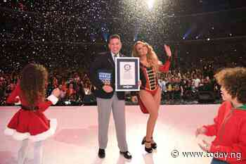 Mariah Carey breaks three Guinness World Records — in pictures
