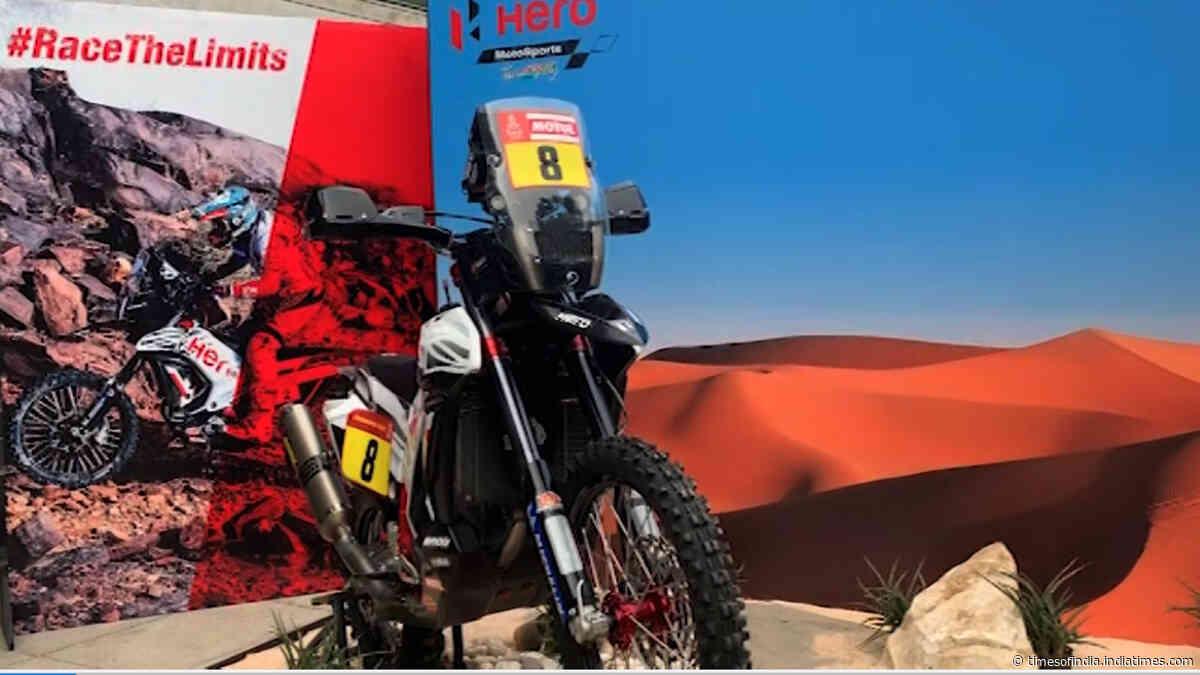 Hero MotoSports' bike for Dakar Rally 2020