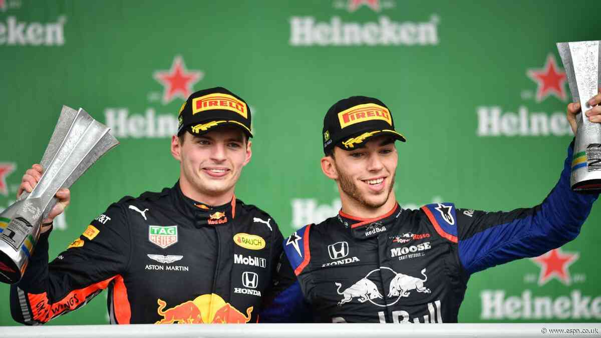 Honda remain with Red Bull, Toro Rosso until 2021