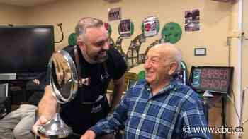 'Dementia barber' helps Côte Saint-Luc men relive old times with a sensory experience