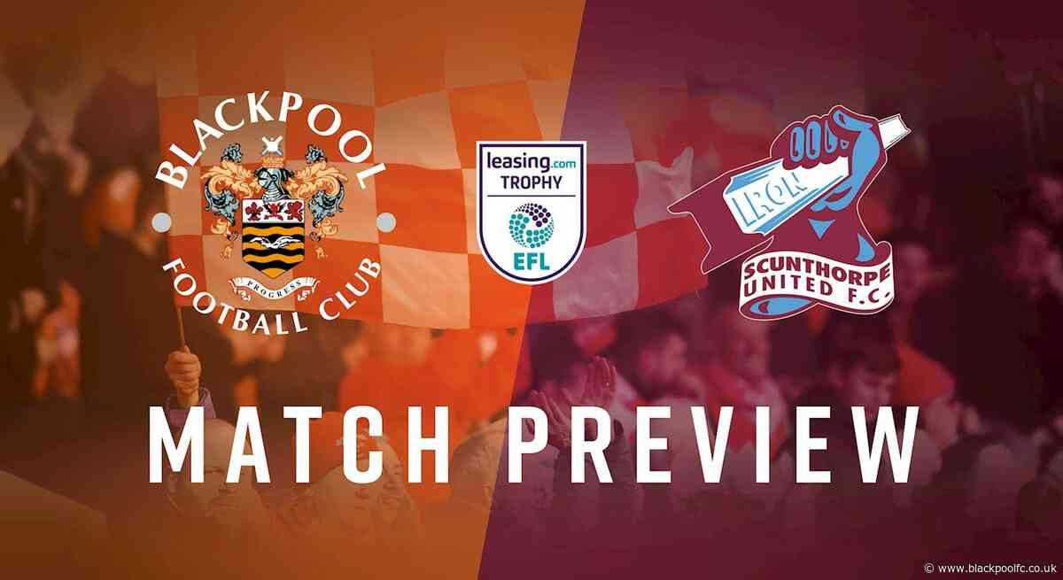 The Big Preview: Scunthorpe United (H)