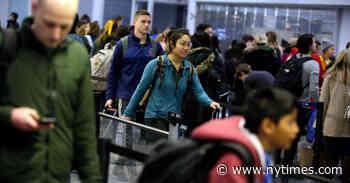 Thanksgiving Weather Live Updates: Travel Disruptions Span U.S.