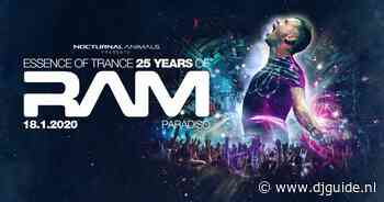 "18-01-2020 - Nocturnal Animals presents ""Essence Of Trance"" 25 Jaar Ram"