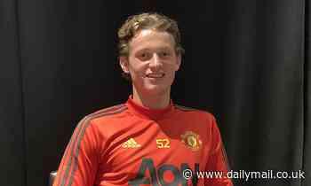 Solskjaer hails cancer survivor Max Taylor as Man United starlet prepares to make his debut