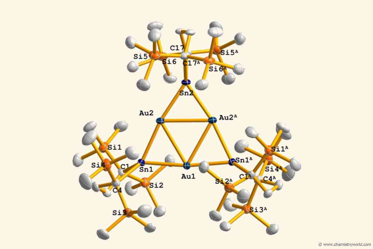 Trigold anion is first example of strange twisted aromaticity