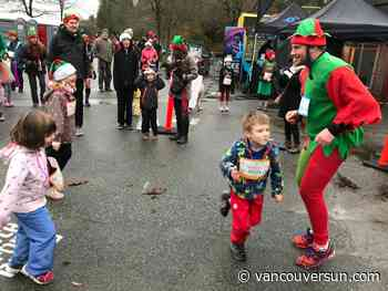 'Tis the season for big elfs, shuffling Santas, 2020 running visions