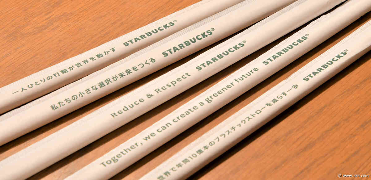 Paperless straws coming to 1,500 Starbucks cafes in Japan