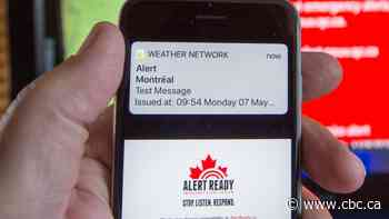 Quebecers will be getting a test alert to their cellphones today — but will it work?