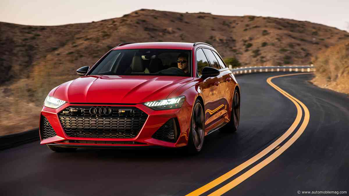 2021 Audi RS6 Avant First Drive Review: Truly a Super Wagon