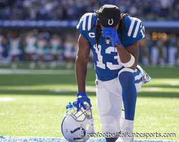 T.Y. Hilton to practice today