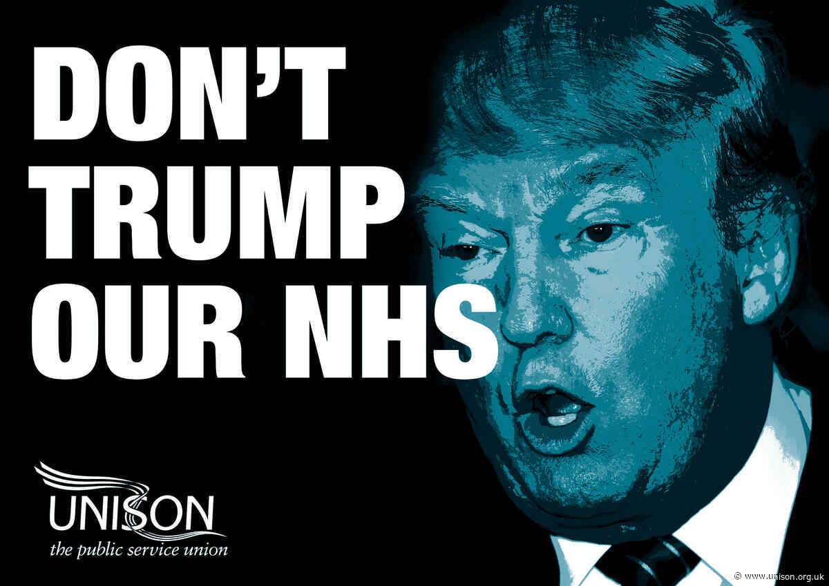 Protect NHS from US takeover