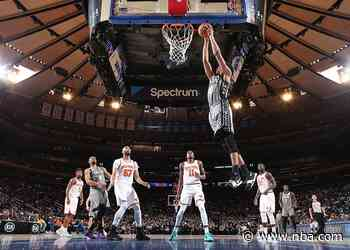 Jarrett Allen Leads NBA in Field Goal Percentage