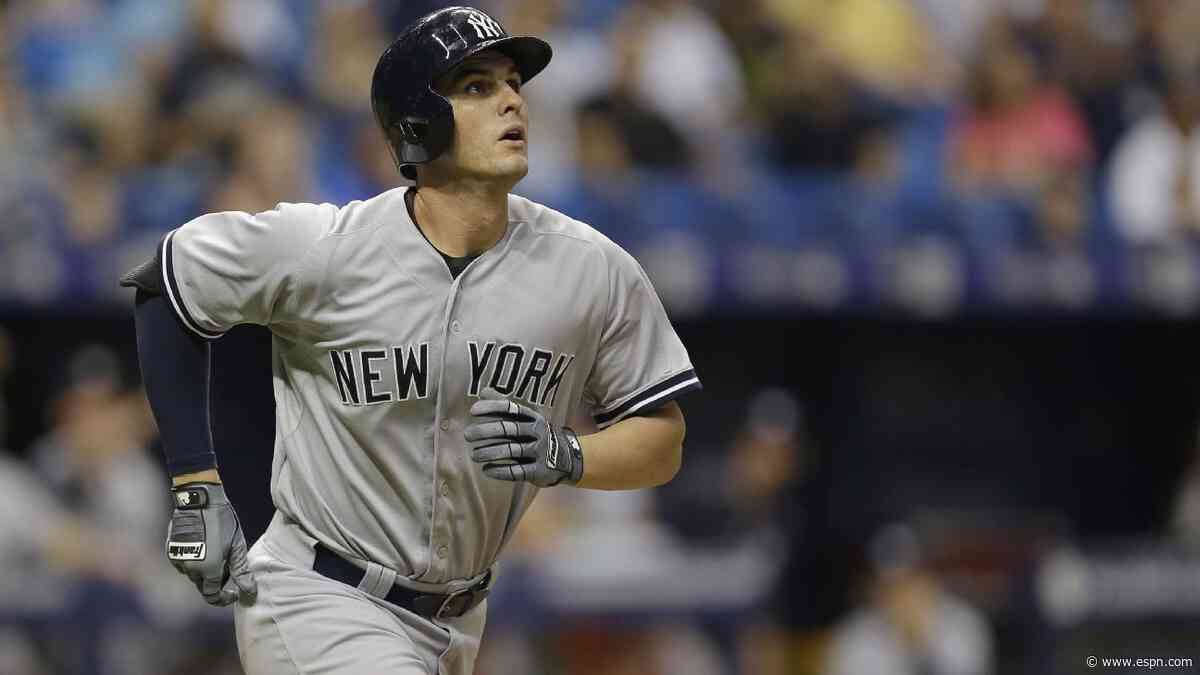 Greg Bird elects free agency after clearing waivers